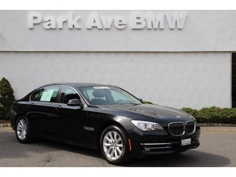 Black Sapphire Metallic 2013 BMW 7 Series 740Li xDrive Sedan