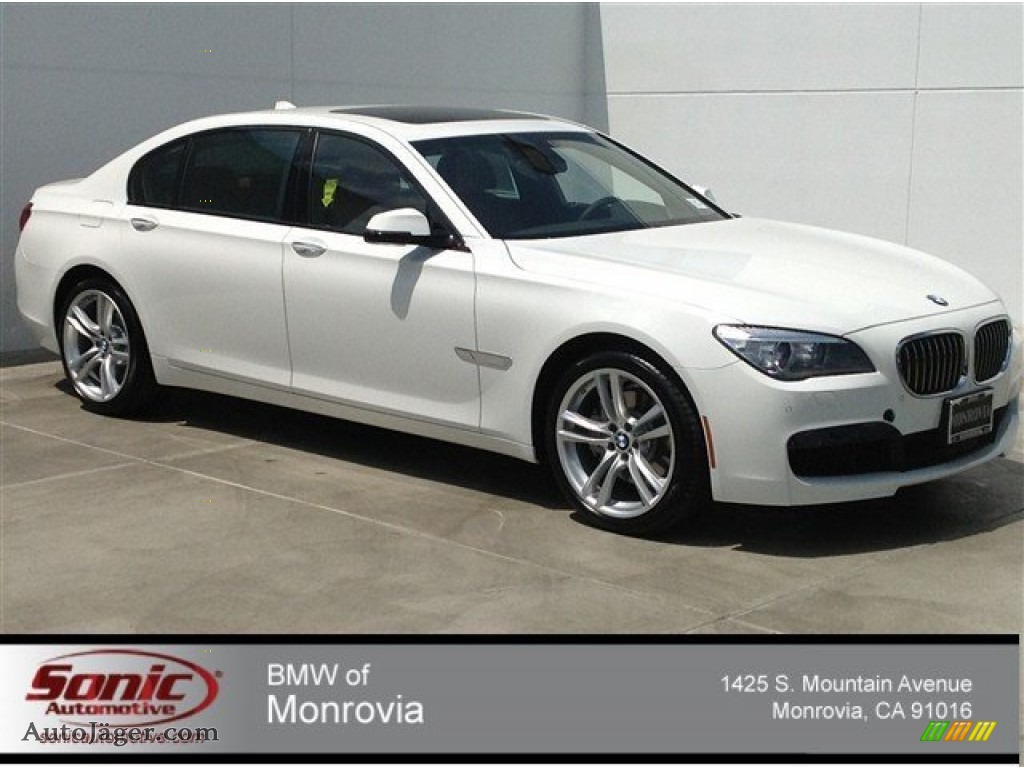 2014 Bmw 7 Series 740li Sedan In Alpine White 138499