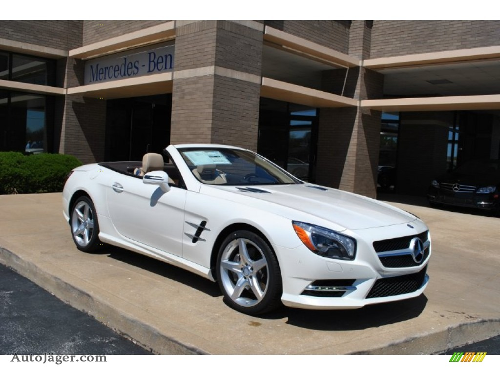 2014 mercedes benz sl 550 roadster in diamond white. Black Bedroom Furniture Sets. Home Design Ideas