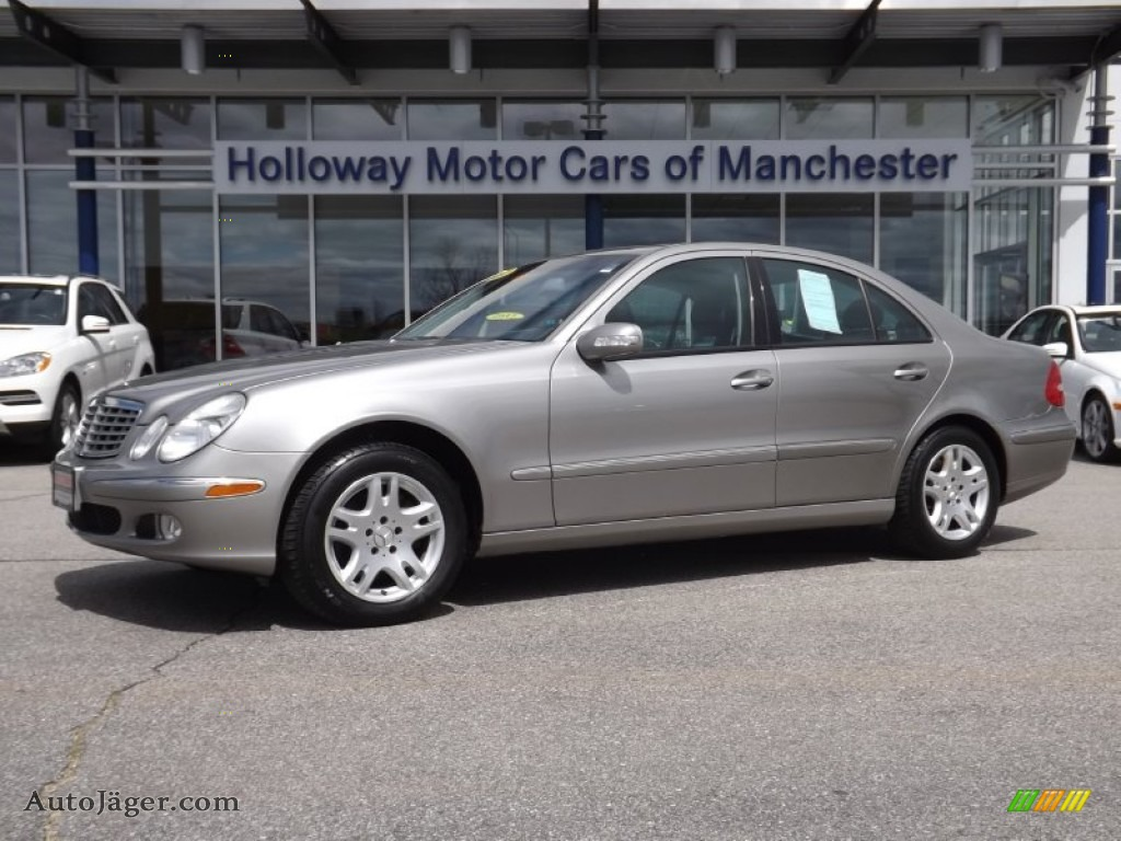2004 Mercedes Benz E 320 4matic Sedan In Pewter Silver
