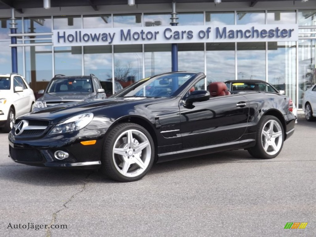 2012 mercedes benz sl 550 roadster in black 169265 for Holloway motor cars manchester