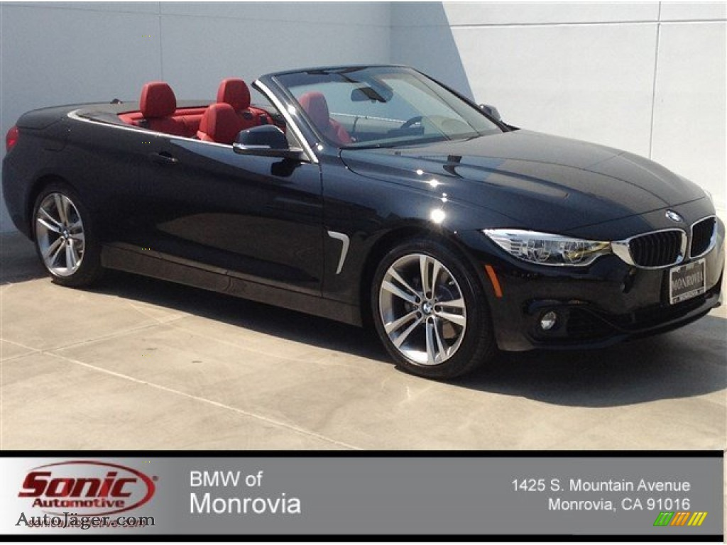 BMW Series I Convertible In Jet Black Auto - 2014 bmw convertible price