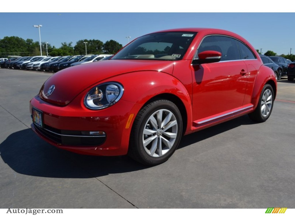 2014 volkswagen beetle tdi in tornado red 635709 auto j ger german cars for sale in the us. Black Bedroom Furniture Sets. Home Design Ideas