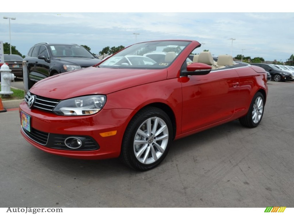 2014 volkswagen eos komfort in salsa red 006378 auto