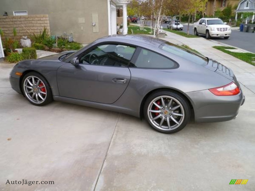 2008 porsche 911 carrera s coupe in meteor grey metallic 732142 auto j ger german cars for. Black Bedroom Furniture Sets. Home Design Ideas