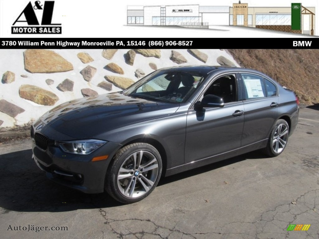 2014 Bmw 3 Series 335i Xdrive Sedan In Mineral Grey Metallic 458925 Auto J 228 Ger German Cars
