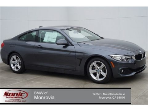 Mineral Grey Metallic 2014 BMW 4 Series 428i Coupe