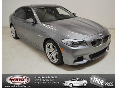 Space Gray Metallic 2012 BMW 5 Series 535i Sedan