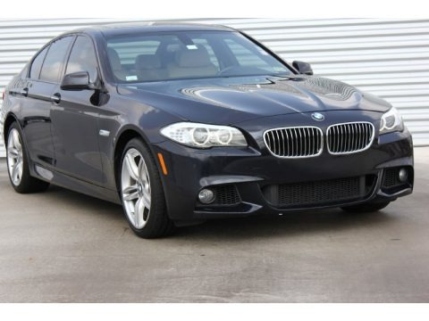 Black Sapphire Metallic 2012 BMW 5 Series 535i Sedan