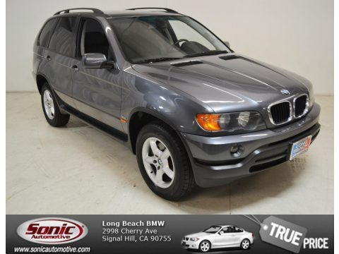 Steel Grey Metallic 2003 BMW X5 3.0i