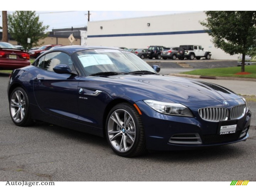 2014 bmw z4 sdrive35i in deep sea blue metallic 385790 auto j ger german cars for sale in. Black Bedroom Furniture Sets. Home Design Ideas