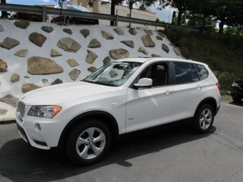 Alpine White 2012 BMW X3 xDrive 28i