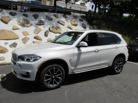 Alpine White 2014 BMW X5 xDrive35i