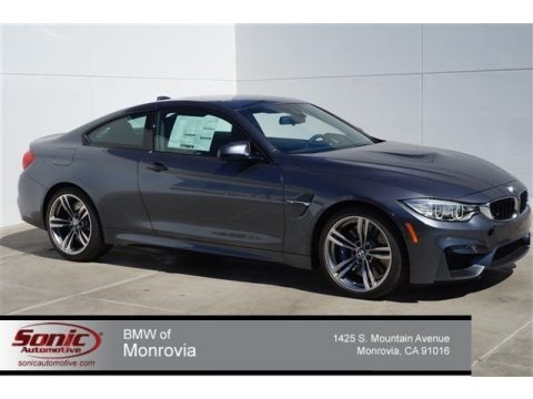 Mineral Grey Metallic 2015 BMW M4 Coupe