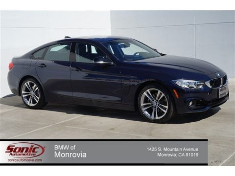 Imperial Blue Metallic 2015 BMW 4 Series 428i Gran Coupe