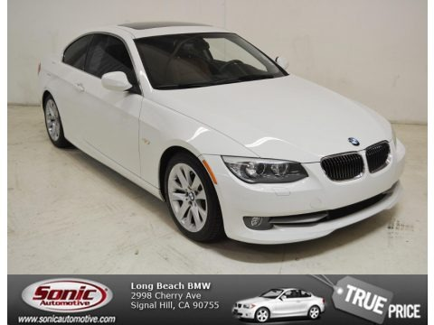 Alpine White 2011 BMW 3 Series 328i Coupe