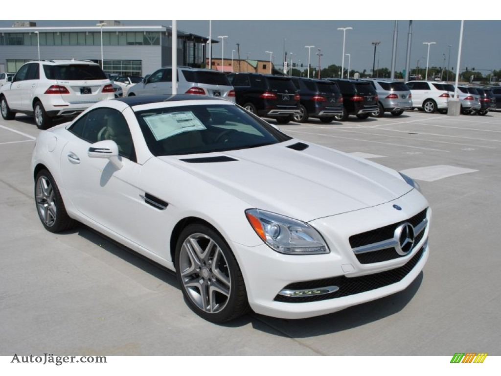 2015 mercedes benz slk 250 roadster in polar white 097039 auto j ger german cars for sale. Black Bedroom Furniture Sets. Home Design Ideas