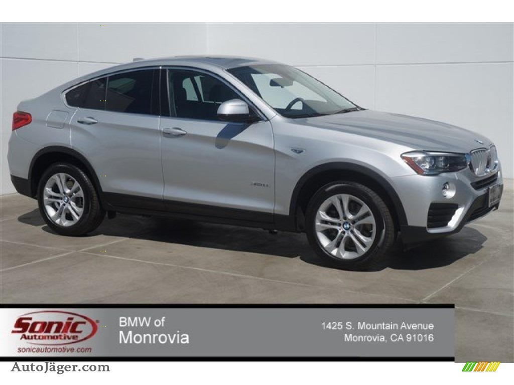 2015 Bmw X4 Xdrive28i In Glacier Silver Metallic F89279 Auto J 228 Ger German Cars For Sale In