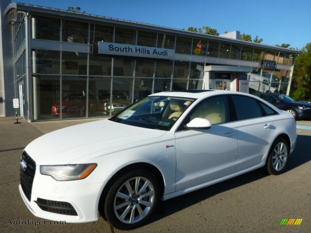 2015 Audi A6 3 0t Prestige Quattro Sedan In Ibis White