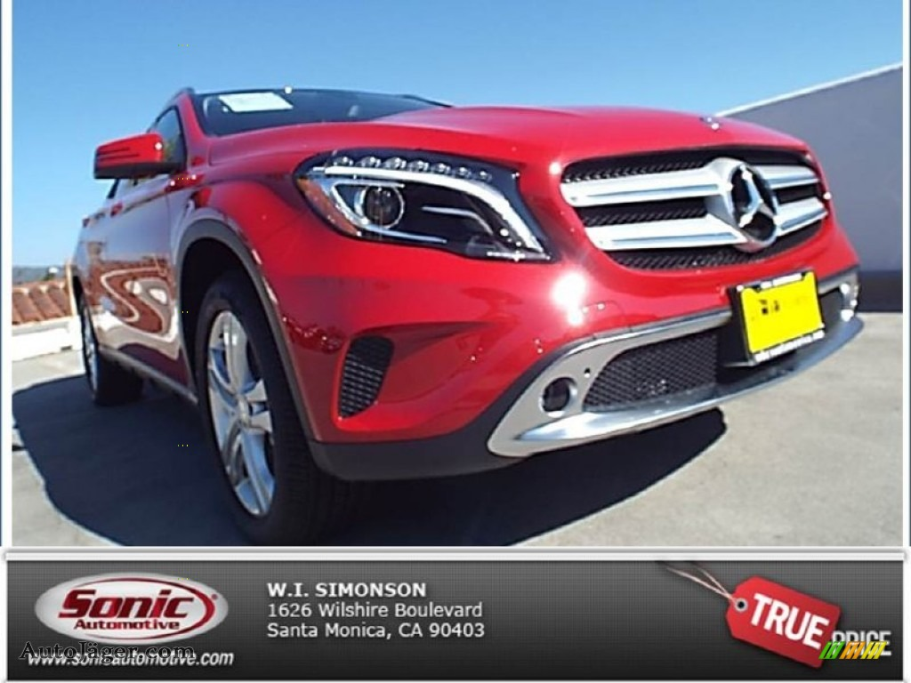 2015 mercedes benz gla 250 4matic in jupiter red 038664 for Simonson mercedes benz