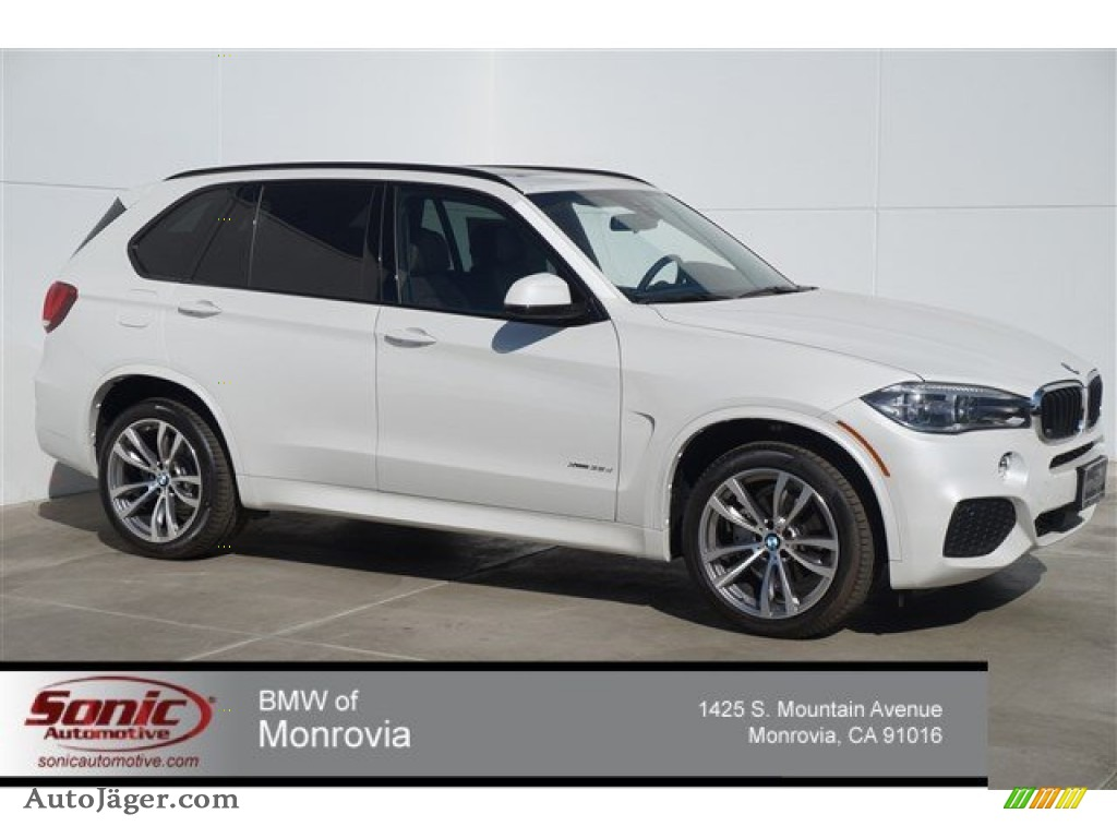 2015 Bmw X5 Xdrive35d In Mineral White Metallic J98333