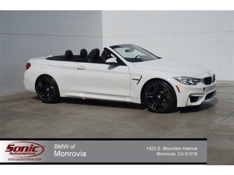 Alpine White 2015 BMW M4 Convertible