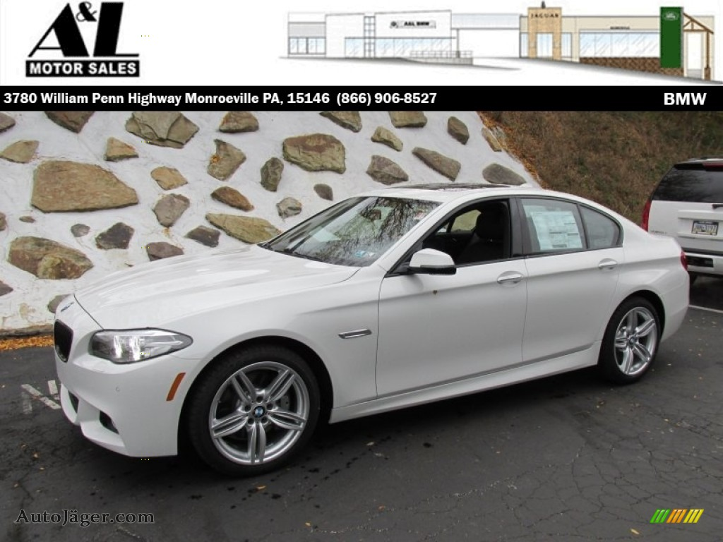 2015 bmw 5 series 535i xdrive sedan in alpine white - 541628