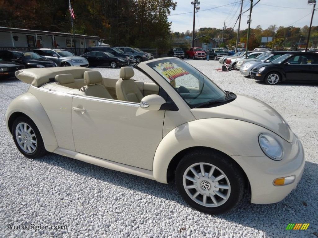 2004 Volkswagen New Beetle Gls Convertible In Harvest Moon