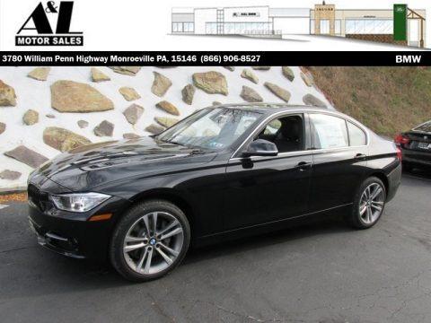 Jet Black 2015 BMW 3 Series 335i xDrive Sedan