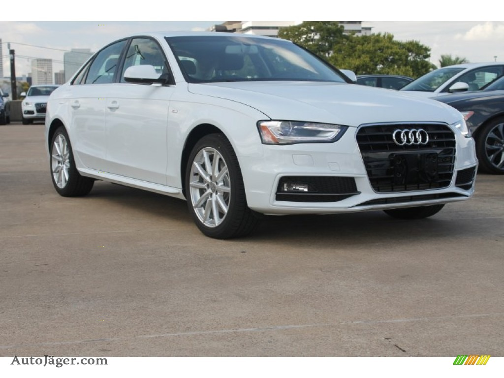 2015 Audi A4 2 0t Premium Plus In Glacier White Metallic