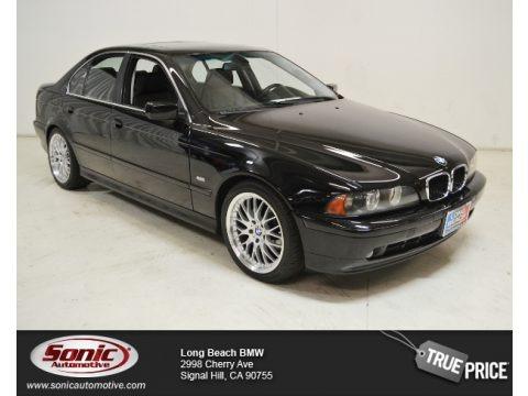 Jet Black 2003 BMW 5 Series 525i Sedan