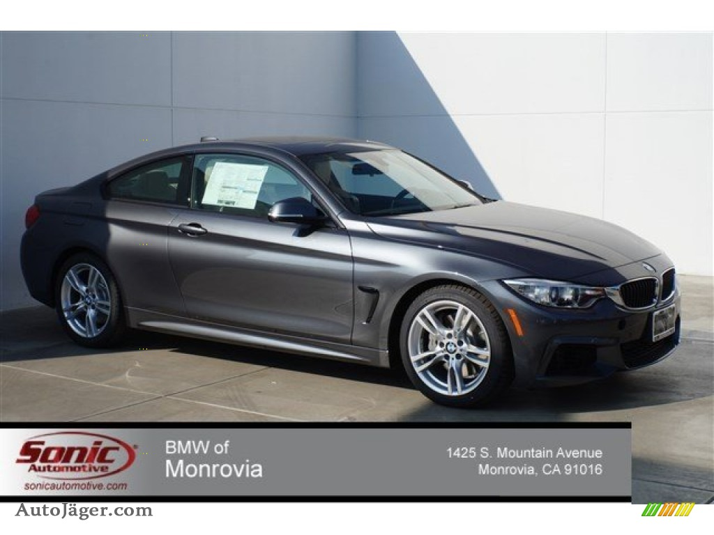 2015 Bmw 4 Series 435i Coupe In Mineral Grey Metallic