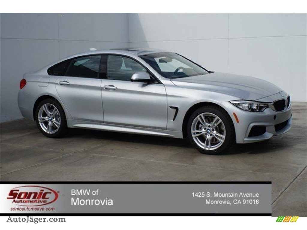 Bmw 428I Convertible >> 2015 BMW 4 Series 428i Gran Coupe in Glacier Silver Metallic - 410883 | Auto Jäger - German Cars ...