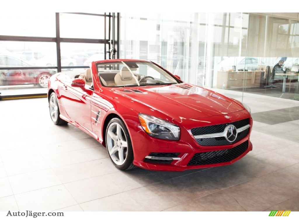 2014 mercedes benz sl 550 roadster in mars red 025399. Black Bedroom Furniture Sets. Home Design Ideas